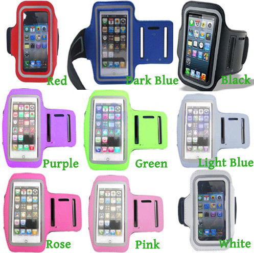 New 9 Color Premium Running Sports GYM Armband Case Cover For Iphone 5 5G