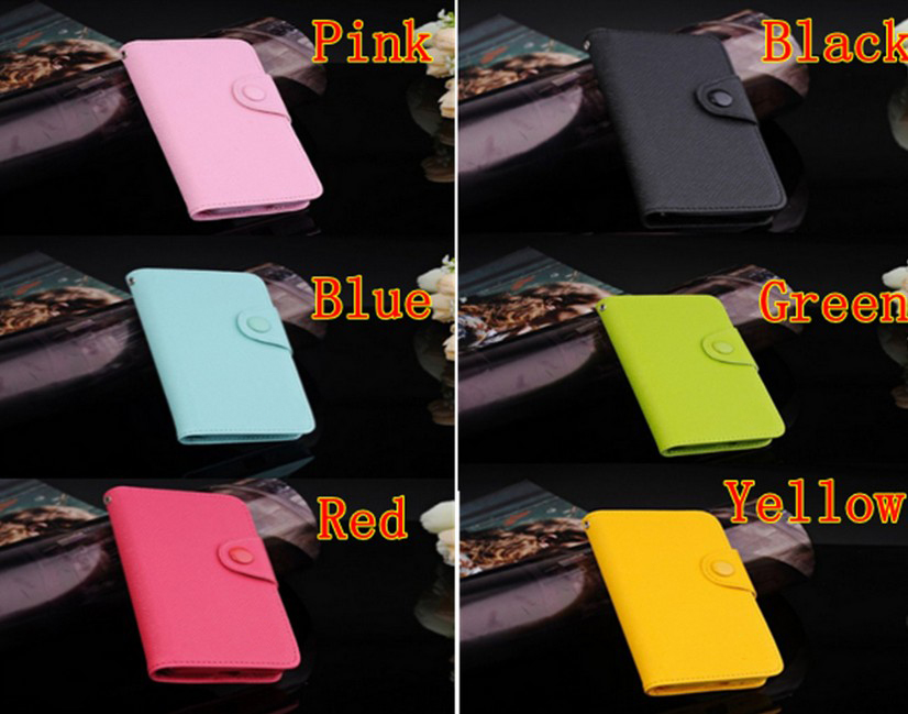 Luxury Flip Wallet Leather Case TPU Cover For Galaxy S2 II i9100 + Film