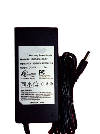 MEMOREX AC Power Adapter BI60-150180-E2 15V 1.8A 27W